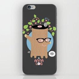 Anna Log iPhone Skin