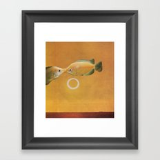 Kisses Framed Art Print