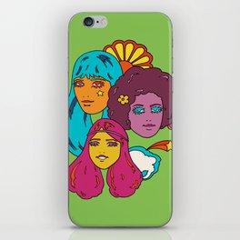 Rainbow Girls iPhone Skin
