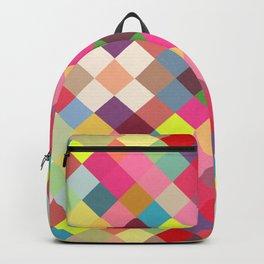 beautiful cute geometric design Backpack