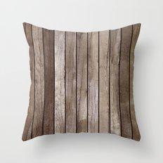 Wooden Texture Throw Pillow