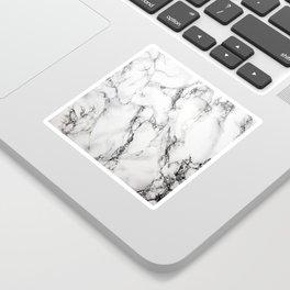 White Marble Texture Sticker