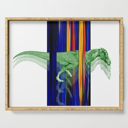 Horseosaur #society6 #decor #buyart #artprint Serving Tray