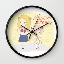 Magical BitcheZ Wall Clock