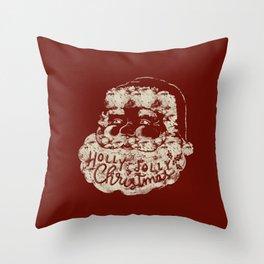 The Jolly Fella Throw Pillow