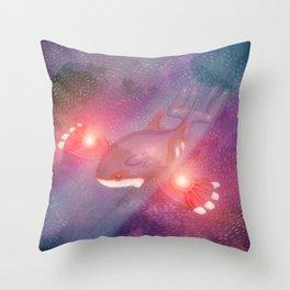 Kyogre Two. Throw Pillow