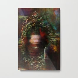 The haunted mirror Metal Print