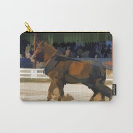 Pure Horsepower - Horse Pulling Event Carry-All Pouch