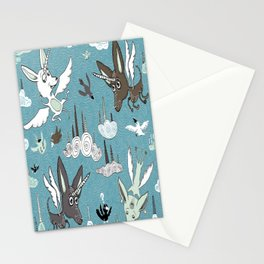 chipegacorn, chihuahua dog + pegasus + unicorn mythical creature! chipegacorn, chihuahua dog + pegas Stationery Cards