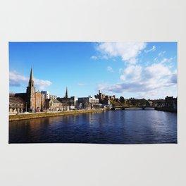 On The Bridge - Inverness - Scotland Rug