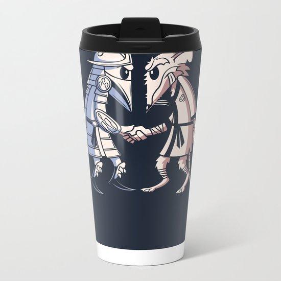 Sensei vs Sensei Metal Travel Mug