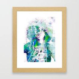 Ode To Badu Framed Art Print