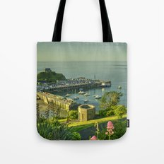 Ilfracombe Harbour Summer Tote Bag