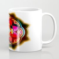 sacred geometry Mugs featuring Sacred by Sircasm