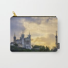 Sunset over Lyon Carry-All Pouch
