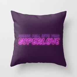 SuperLove / Charli XCX Throw Pillow