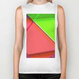 """""""The life is as a mirror. If you smile to him, she sends back you your image."""" Biker Tank"""