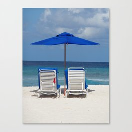 Loungers Canvas Print