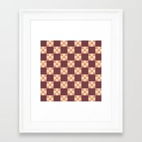 quilt Framed Art Prints featuring Quilt by Lyle Hatch