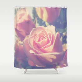 Shy Rose Shower Curtain