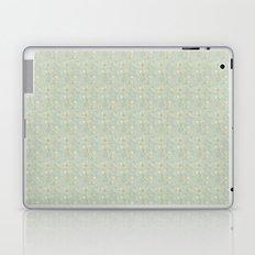 Silver Petals Laptop & iPad Skin