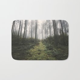 Unknown Road - landscape photography Bath Mat