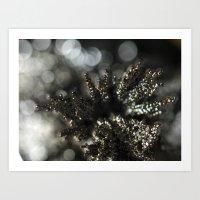Silver Spires Art Print