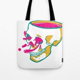 Liquid thoughts:Skull Tote Bag