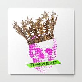 Fashion Beast Metal Print