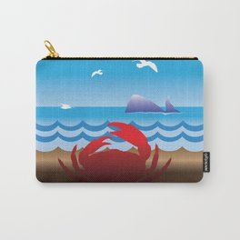 Crab Whale Watch Carry-All Pouch