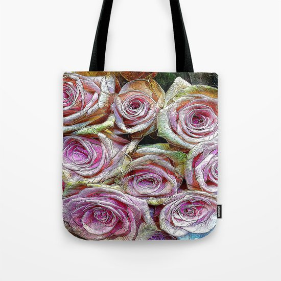 :: Rose is a Rose :: Tote Bag