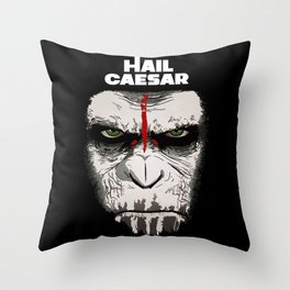 Hail Caesar Throw Pillow