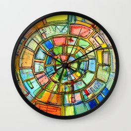 Free Rotor Energy (Nikola Tesla) Wall Clock