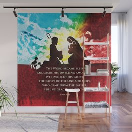 We Have Seen His Glory! Wall Mural