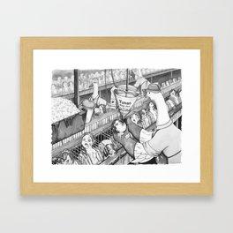 Foie Gras Production Framed Art Print