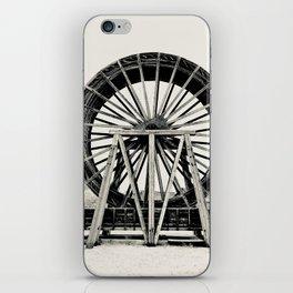 Water wheel iPhone Skin