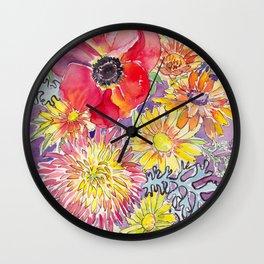 Mum and Poppy Wall Clock