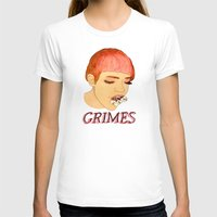 grimes T-shirts featuring Grimes by caxcma