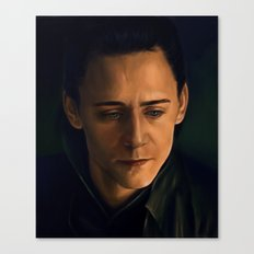 Prince of Asgard Canvas Print