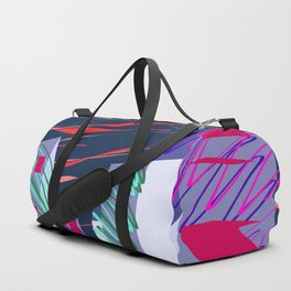 City Sketches and Red Skies Duffle Bag