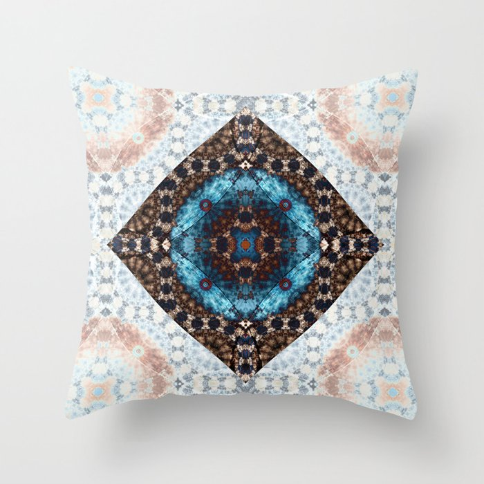 A Night in Zion Throw Pillow
