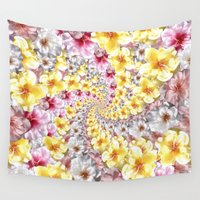 bali Wall Tapestries featuring bali twist0 by gasponce