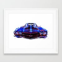 sport Framed Art Prints featuring super sport by Vector Art