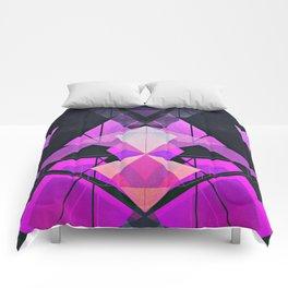 Galactic Rose Comforters