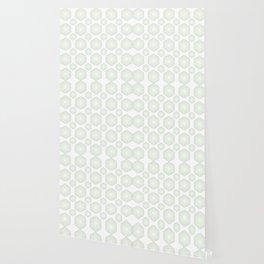 Green Shade Polygon Wallpaper