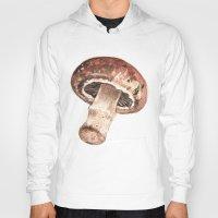 mushroom Hoodies featuring Mushroom by Alicia Severson