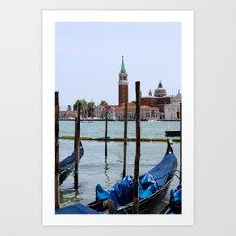 Venetian landscape Art Print