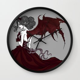 Margaret the Demon Wall Clock