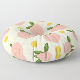 Peachy Floor Pillow