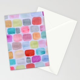 Palette Squares Stationery Cards